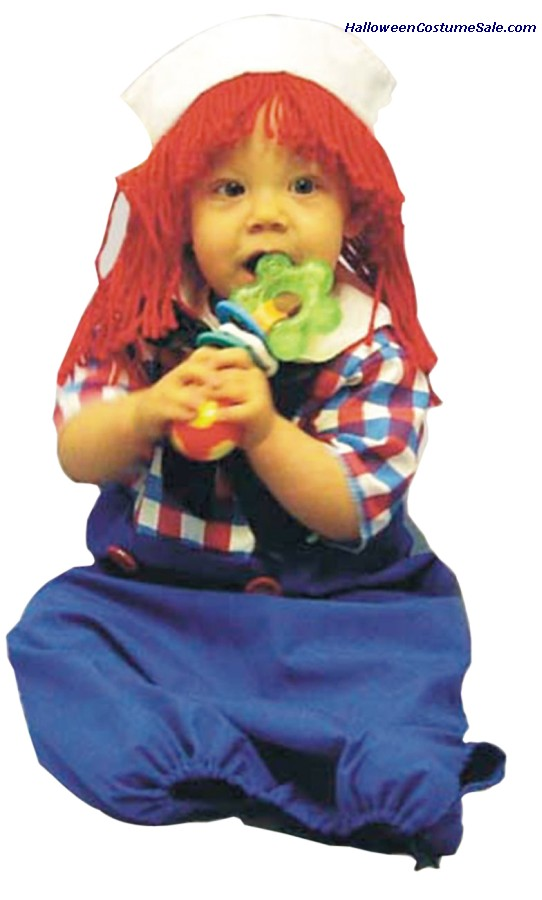 RAGGEDY ANDY INFANT COSTUME