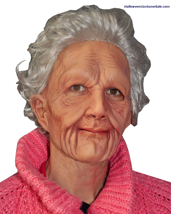 SUPERSOFT OLD WOMAN MASK