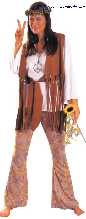 HIPPIE LOVE ADULT COSTUME