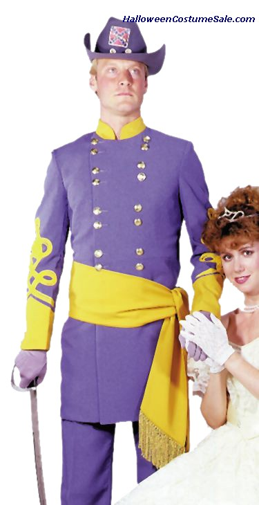 ADULT DELUXE CONFED.GENERAL COSTUME
