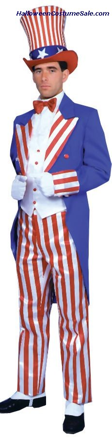 UNCLE SAM DELUXE ADULT COSTUME
