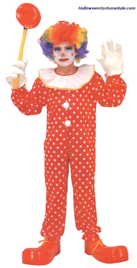 DELUXE CLOWN CHILD COSTUME