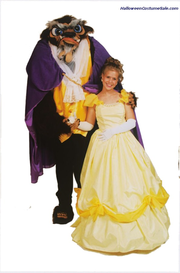 BEAST ADULT COSTUME - FROM BEAUTY AND THE BEAST