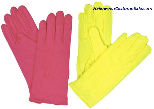 NYLON GLOVES W/SNAP - TEEN SIZE