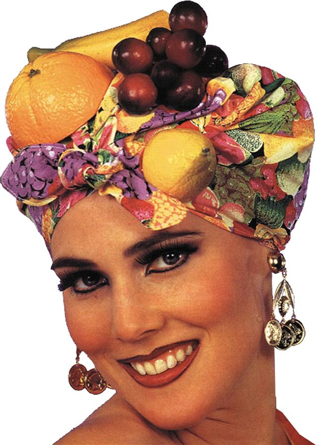 FRUIT HEADPIECE-LATIN LADY