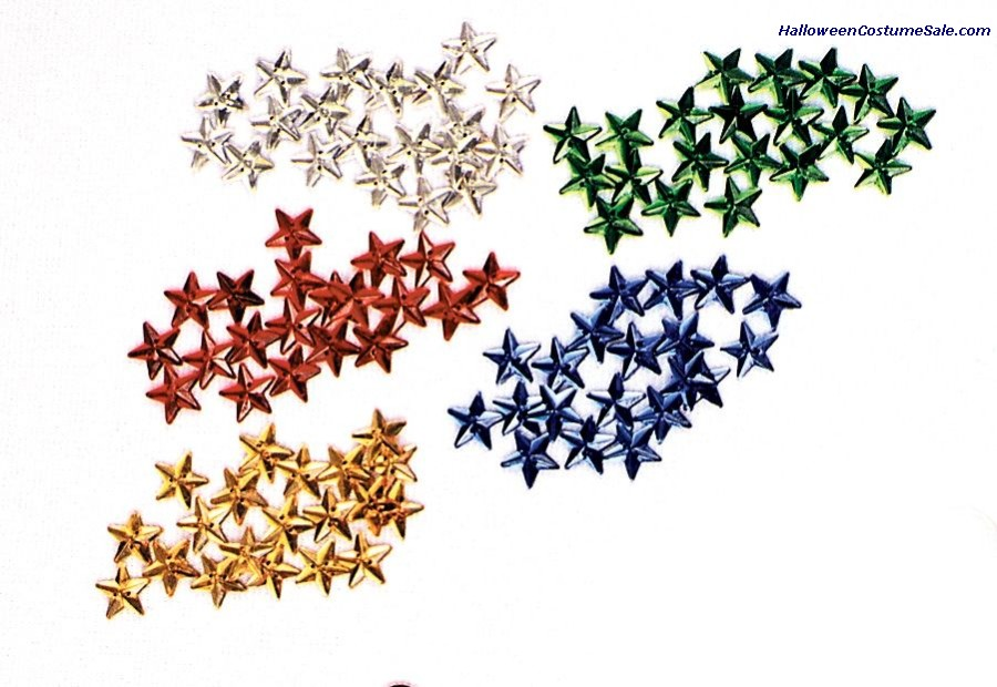 SEW-ON GLASS STARS
