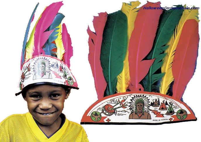 INDIAN HEADDRESS - CHILD SIZE