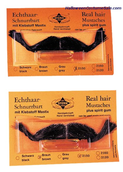 REAL HAIR MUSTACHE (FRENCH)