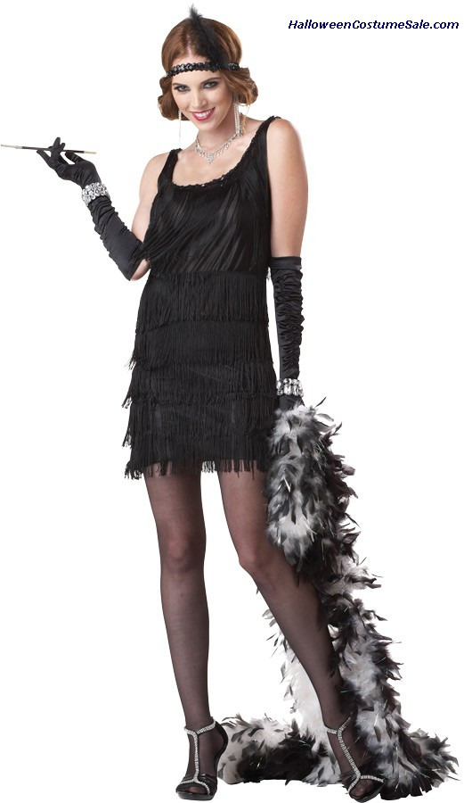 FLAPPER FASHION WOMEN ADULT COSTUME