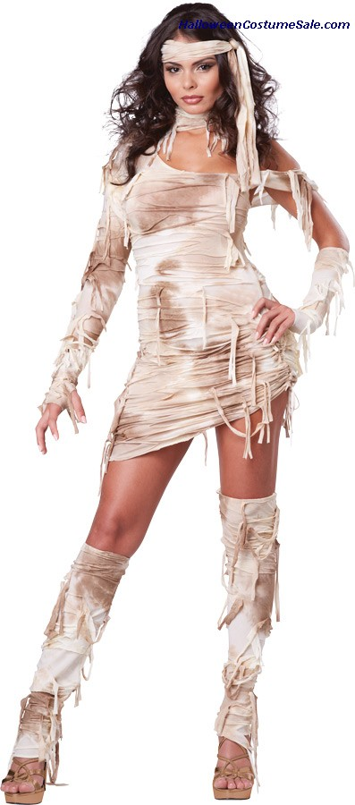 MYSTICAL MUMMY WOMEN ADULT COSTUME