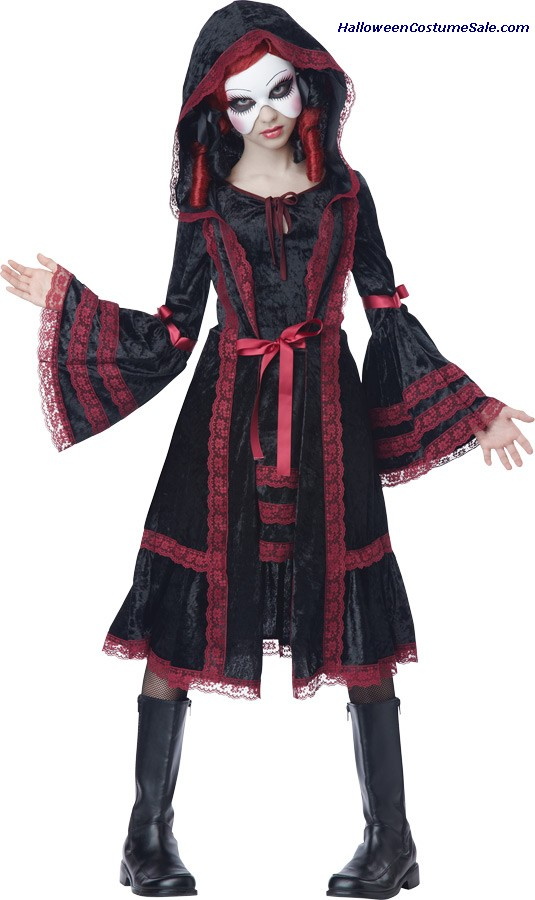 GOTHIC DOLL CHILD COSTUME