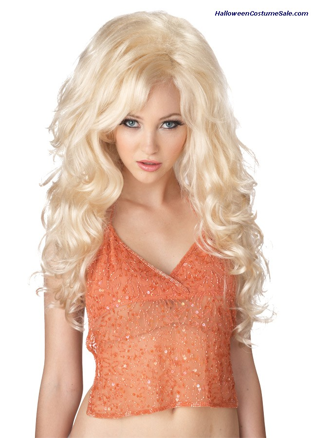BOMBSHELL BLONDE ADULT WIG