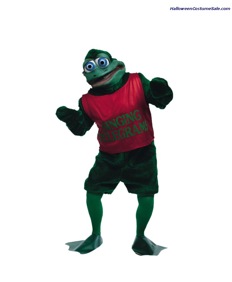 CRAZY CRITTERZ - ADULT FROG COSTUME