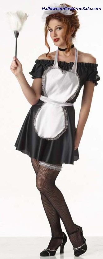 PARLOR MAID ADULT COSTUME
