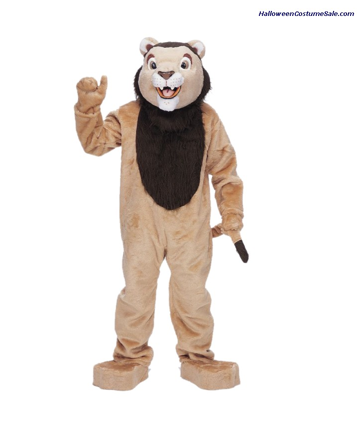 LION MASCOT ADULT COMPLETE COSTUME