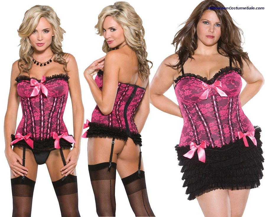 STRETCH  CORSET - PLUS SIZE