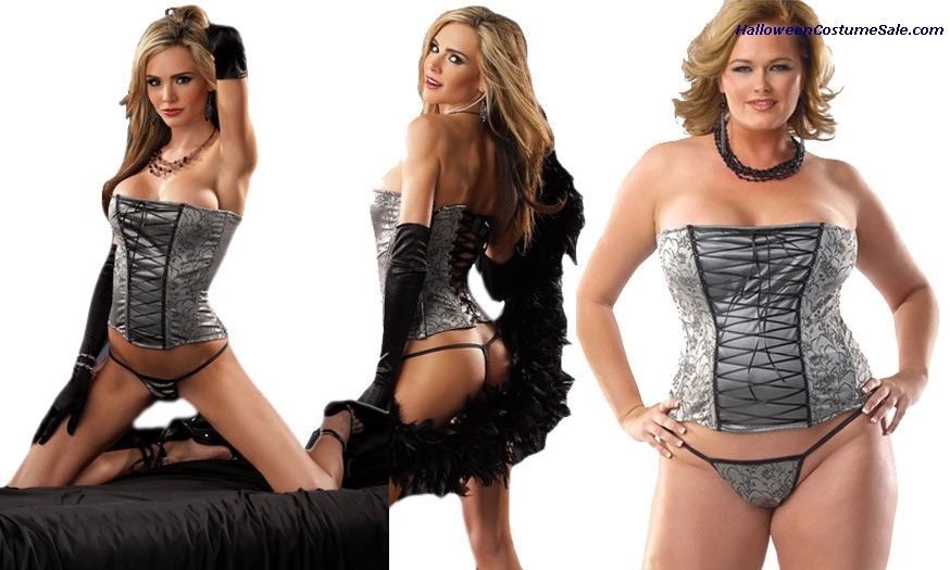 CORSET WITH G-STRING