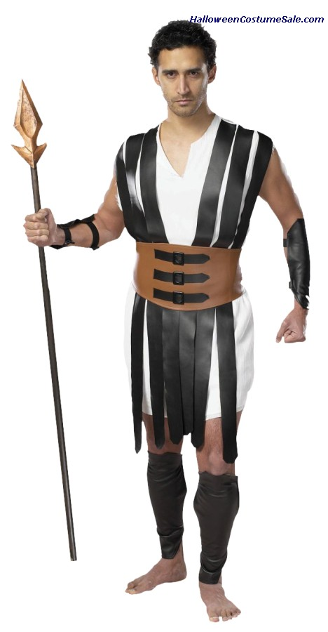 GLADIATOR ADULT COSTUME - PLUS SIZE