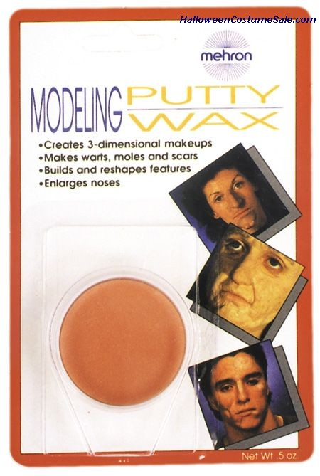 MODELING PUTTY WAX - CARDED
