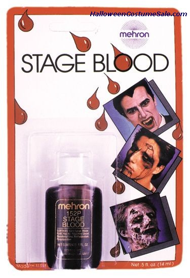 STAGE BLOOD, CARDED