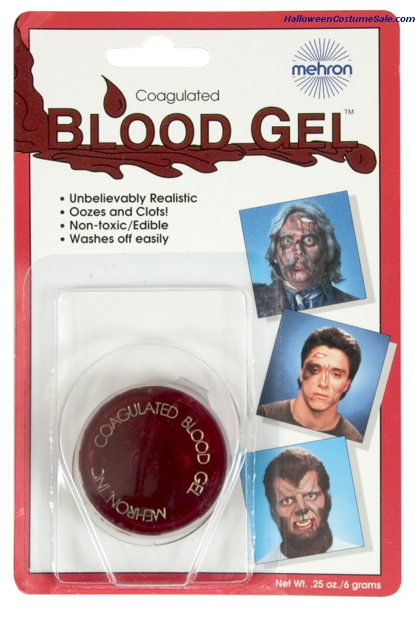 BLOOD GEL - 0.5 OZ.