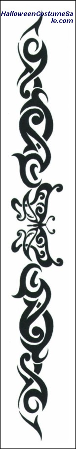ARMBAND TATTOO - TRIBAL BUTTERFLY