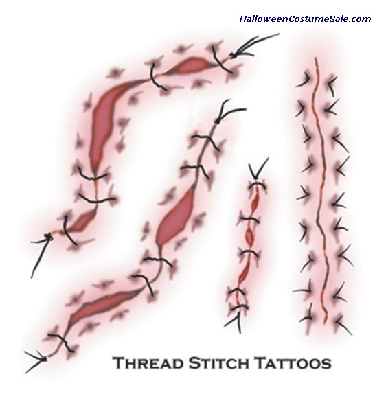 TATTOO - THREAD STITCH FX