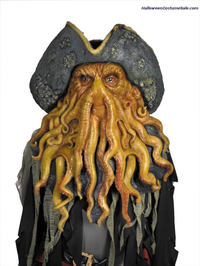 Need Help with Davy Jones Mask