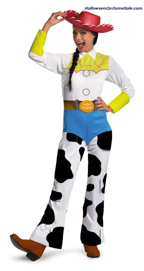 CLASSIC TOY STORY JESSIE ADULT COSTUME