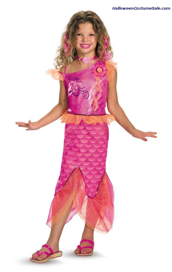 BARBIE MERLIAH DELUXE CHILD COSTUME