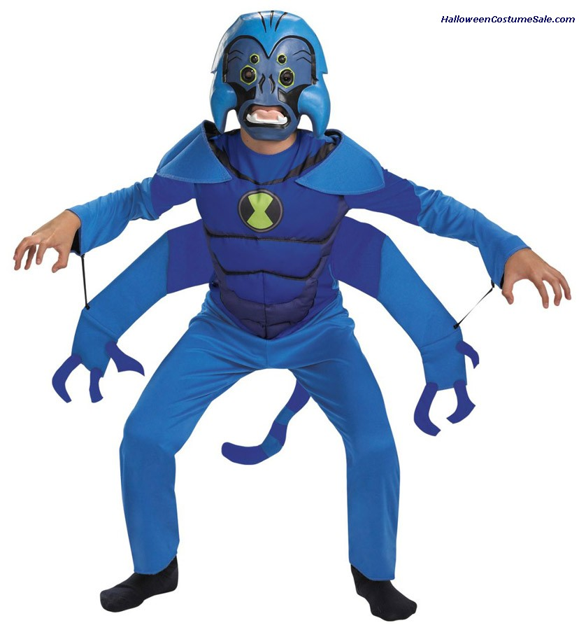 SPIDER MONKEY BEN 10 CHILD COSTUME