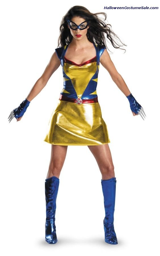 DAUGHTER OF WOLVERINE ADULT COSTUME