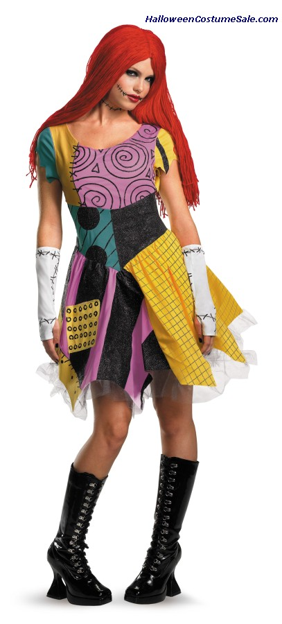 SASSY SALLY ADULT COSTUME