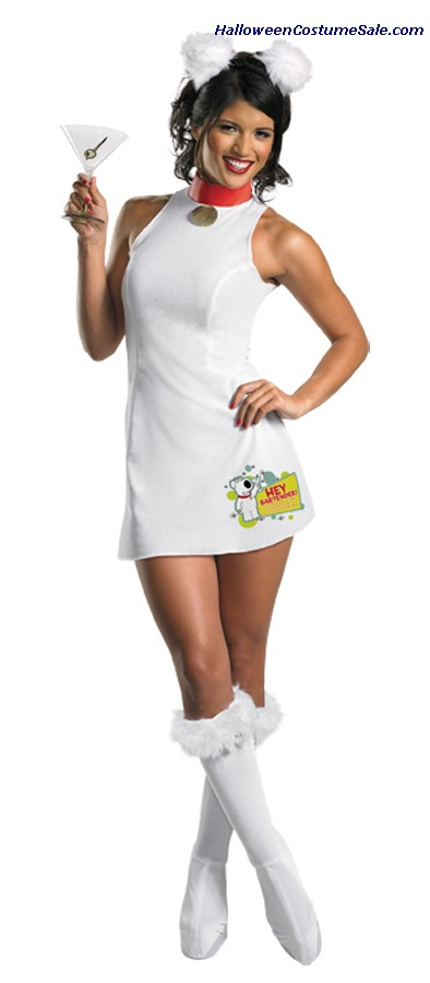 FAMILY GUY SASSY BRIAN ADULT COSTUME