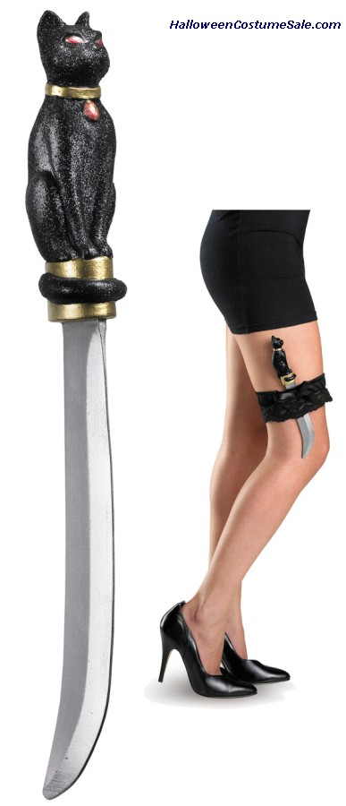 SHE CAT KNIFE WITH GARTER