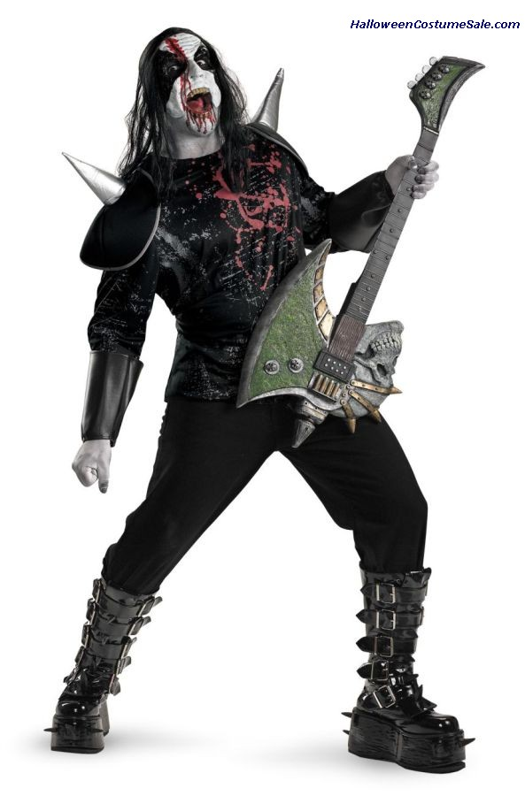 METAL MAYHEM PLUS SIZE COSTUME