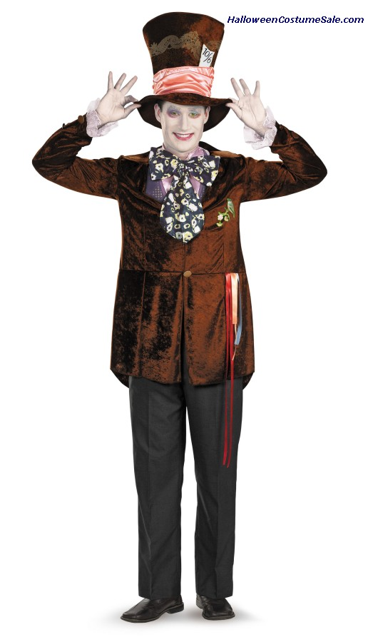 MAD HATTER DELUXE MOVIE ADULT COSTUME