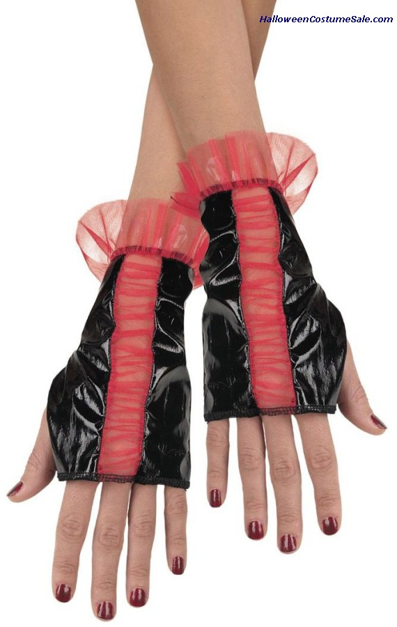 ROUGED GLOVETTES - ADULT SIZE