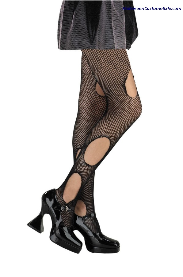 TORN FISHNETS - ADULT SIZE