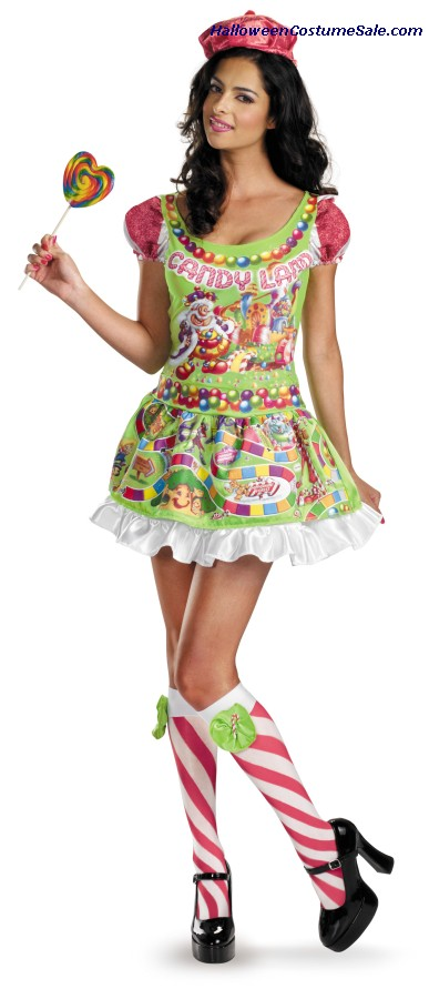 DELUXE SASSY CANDYLAND ADULT COSTUME