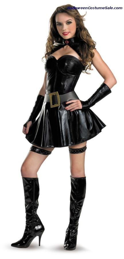 GI JOE BARONESS SASSY ADULT COSTUME