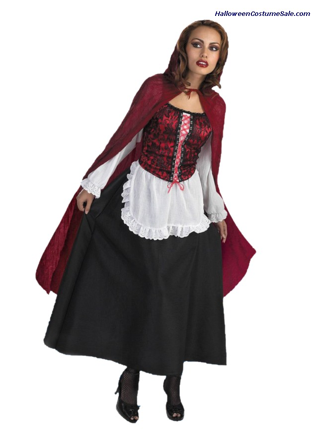 LITTLE RED RIDING HOOD ADULT COSTUME