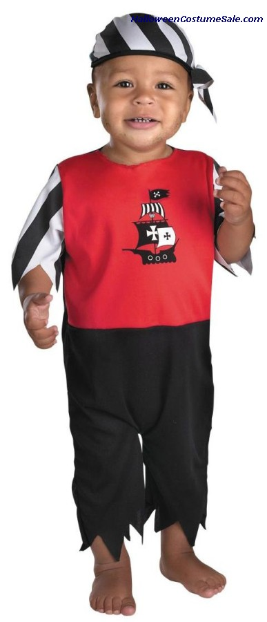 SEA SAILING PIRATE TODDLER COSTUME
