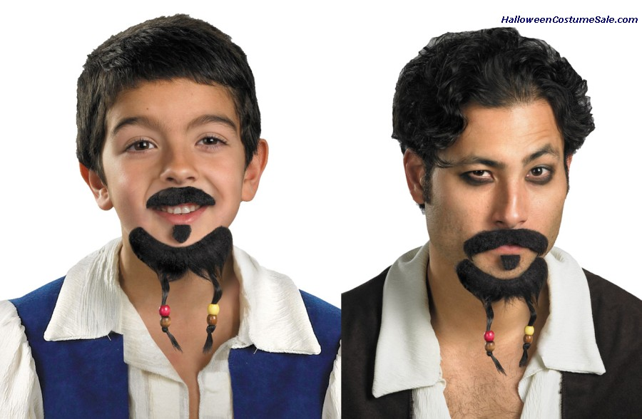 GOATEE AND MOUSTACHE DISNEY CHILD