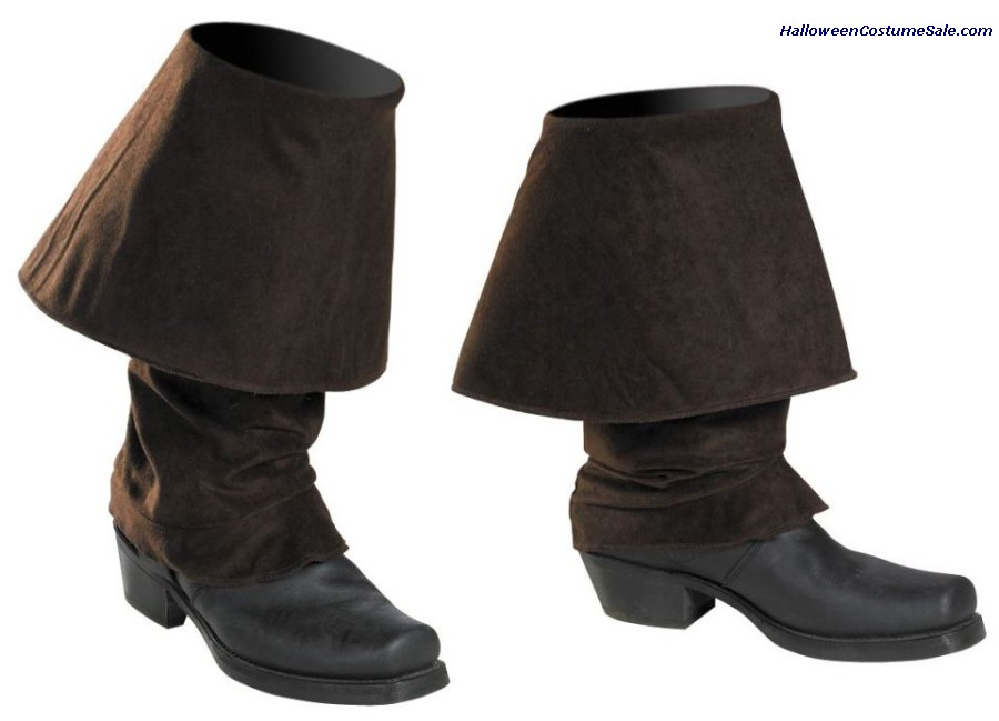DISNEY JACK SPARROW PIRATE BOOT COVERS