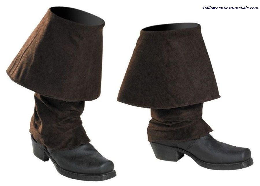DISNEY JACK SPARROW PIRATE BOOT COVERS - CHILD SIZE