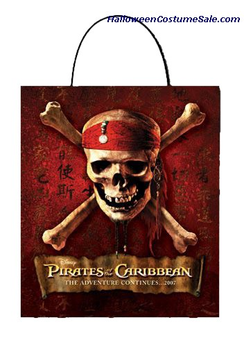 PIRATES OF CARRIBEAN TREAT BAG