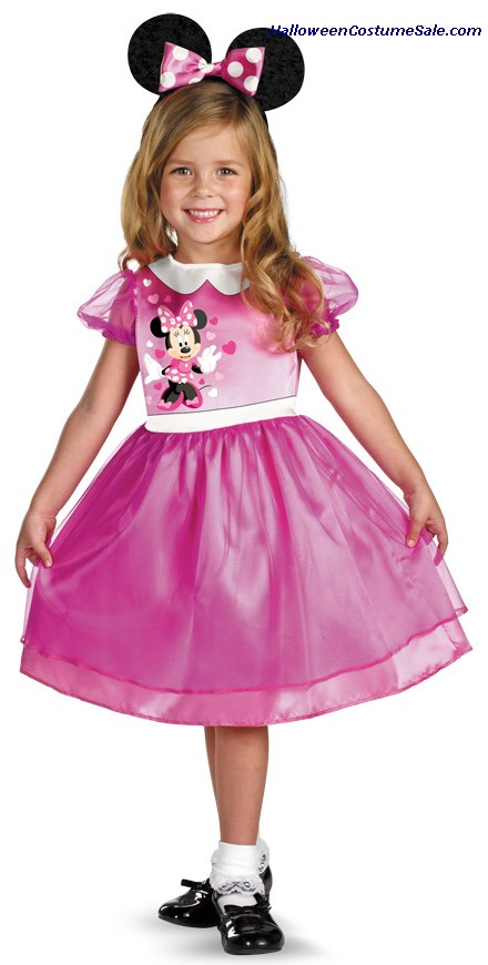 PINK MINNIE MOUSE BASIC COSTUME