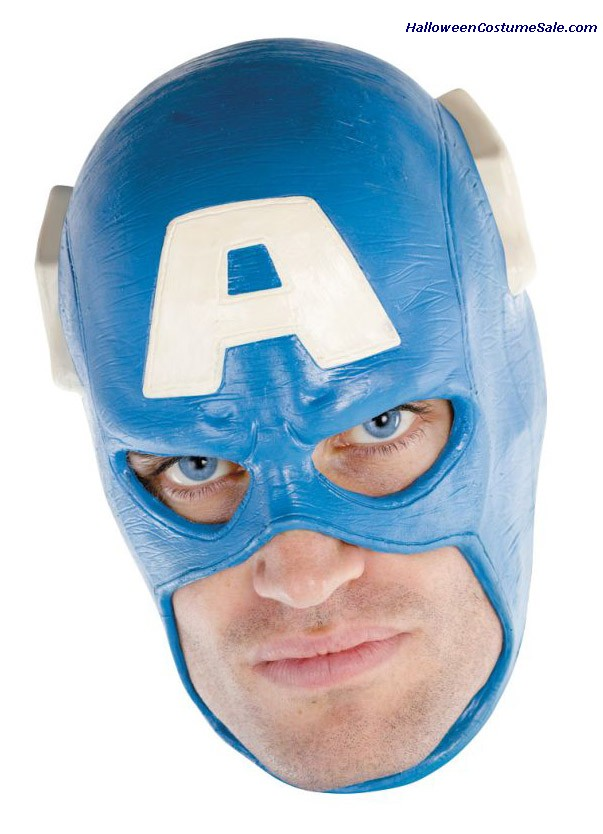 CAPTAIN AMERICA ADULT DLX MASK