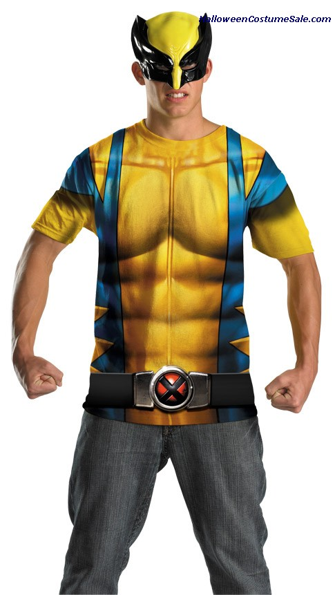 WOLVERINE ALTERNATE NO SCARS PLUS SIZE COSTUME